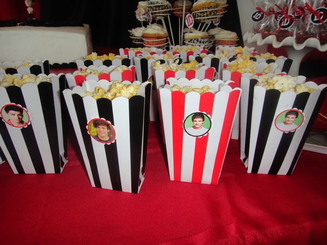 cute one direction party and probably I can make these I think they would be cool for a party