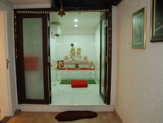 Traditional Modern Pooja Room Indian Home Decor