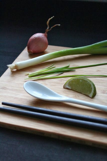 Ingredients for pho - vietnamese soup