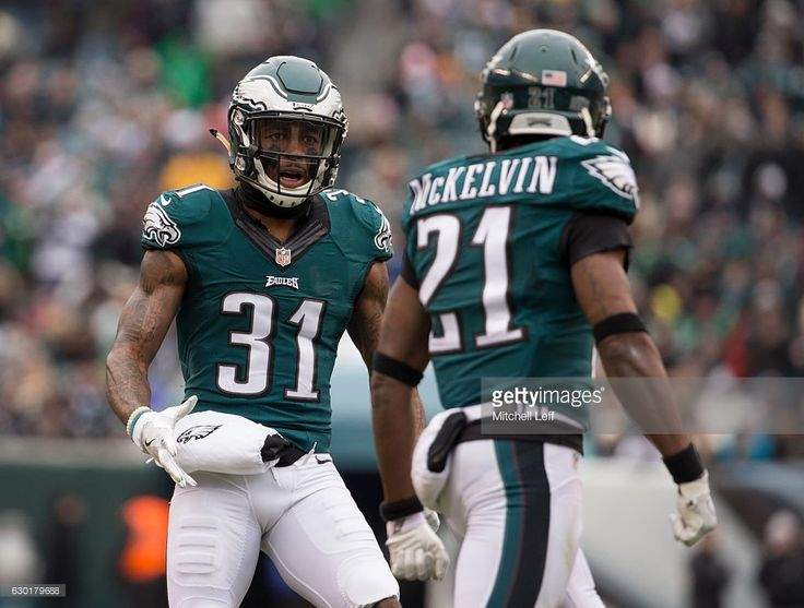 197622857 ... limited best price green player jersey leodis mckelvin 21 of the philadelphia  eagles celebrates with jalen mills ...