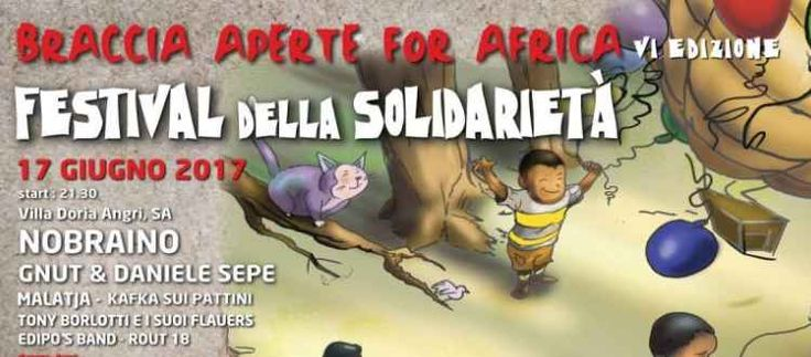 Braccia Aperte for Africa VI edizione Festival della Solidarietà
