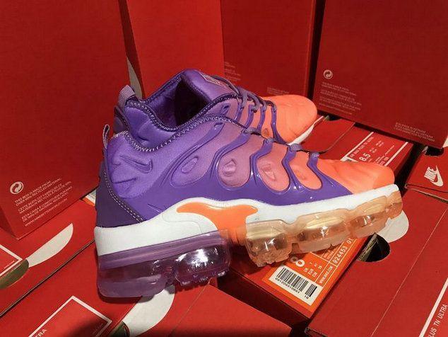 e861f430f22e Nike 2018 Tn Air Vapormax Plus Gradual Change Violet Eur 36-39 Shoe ...