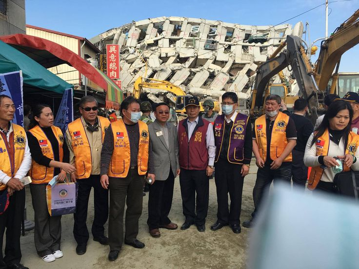 District 300 G2 #LionsClubs (Taiwan) provided assistance after the Taiwan earthquake