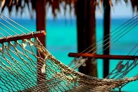 hammock on the beach, chill.