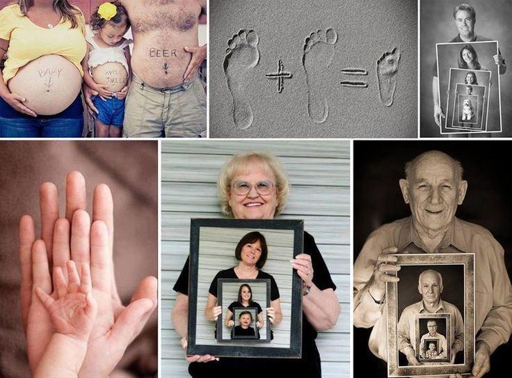 Pomysłowe zdjęcia rodzinne