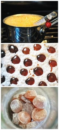 Honey Ginger Throat Drops - DIY Homemade Cold And Flu Drops, Syrup Recipes…
