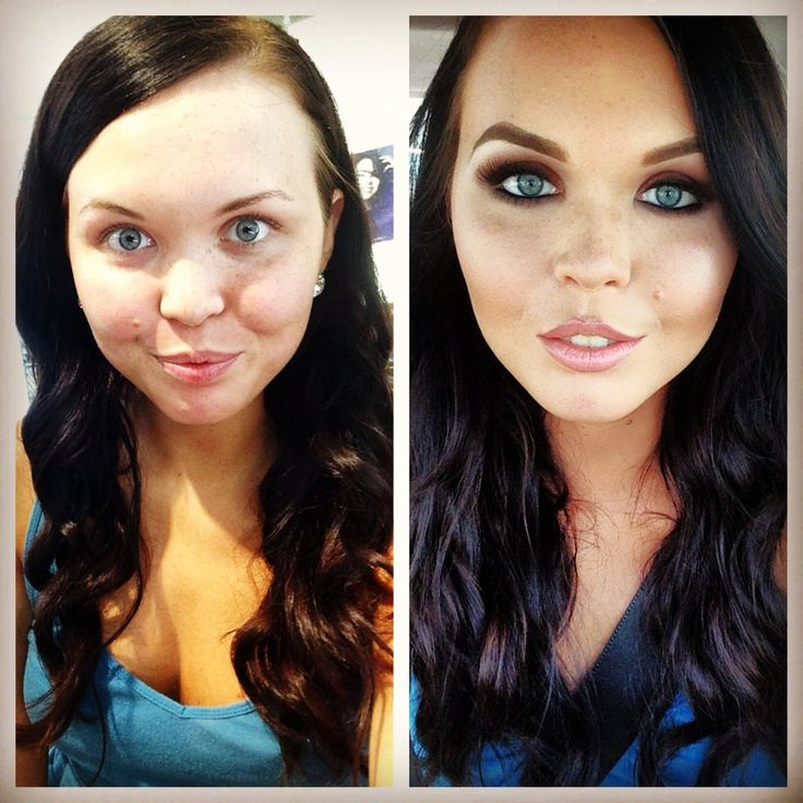 Girls Makeup Makeover And Games: Makeup Of The Day: BEFORE AND AFTER GLAM By Makeupbynia