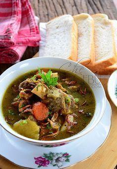 Sup Kambing Ala Mamak