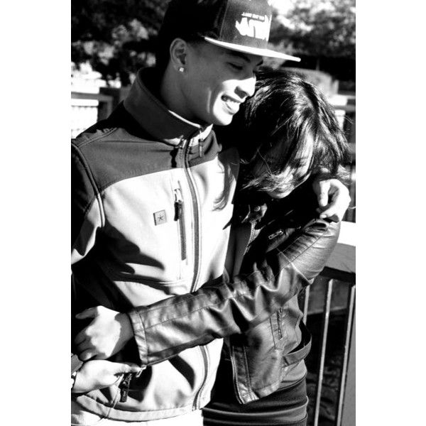 swag couple | Tumblr ❤ liked on Polyvore featuring couples, people and cute couples