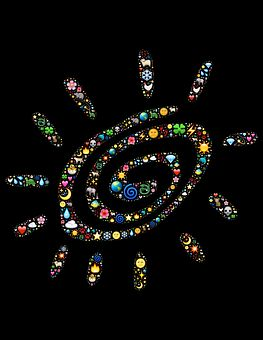 Spiral, Emoji, Symbol, Sun, Spirit