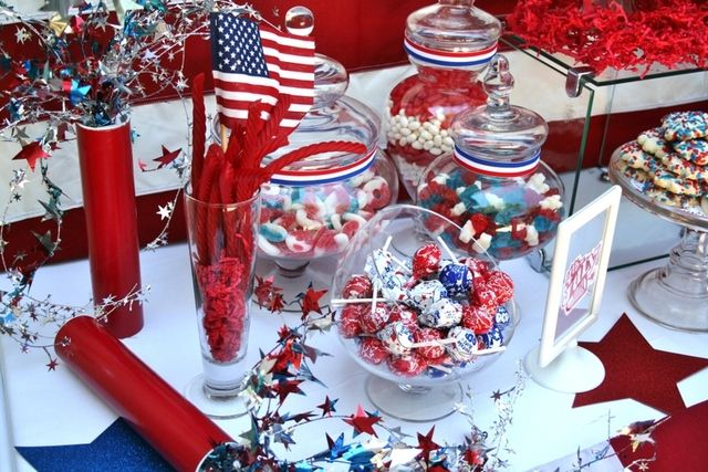 17 best images about lt col promotion party on pinterest for 4th of july party decoration