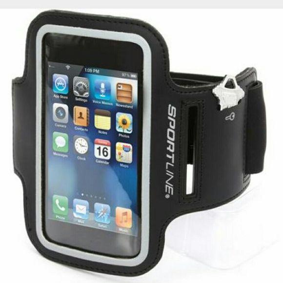 Sportline Smartphone Armband GREY ONLY!!! Smartphone Armband, Velcro adjustments Sportsline Accessories