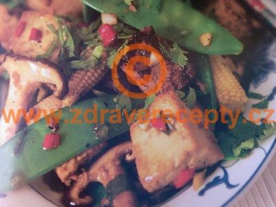 Detail receptu - Fitness směs s tofu