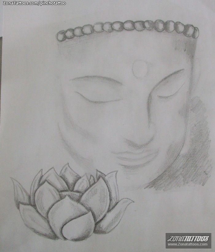 bhuda y loto  Teken en schilder ideeën  Pinterest