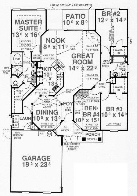 50 best House Plans images on Pinterest House floor plans Country