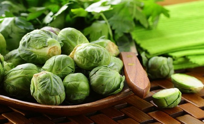 Health benefits of Brussels sprout #healthbenefits