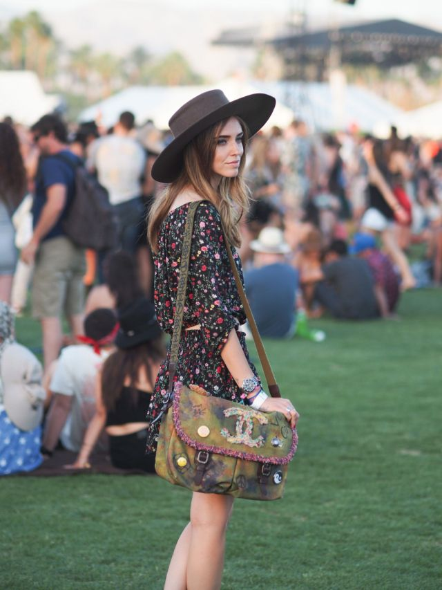 Chiara Ferragni at COACHELLA 2015