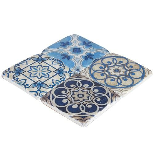 Resin Coaster Set of 4 - Jules - Products - 1825 interiors