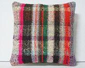 folk art pillow cover ethnic rug rustic pillowcase sale pillow cover geometric pillow bohemian textile novelty pillow cover kilim pillow rug