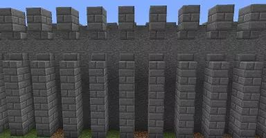 25 Best Ideas About Minecraft Castle Walls On Pinterest