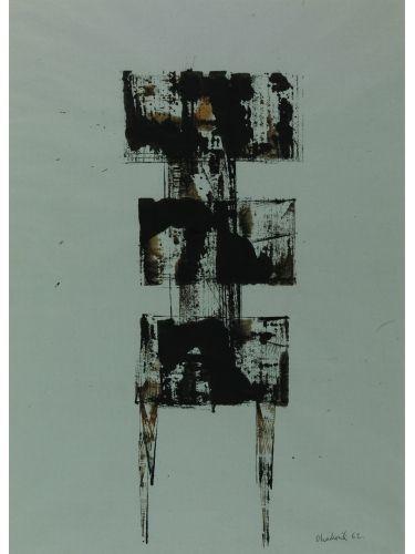 Watcher Lynn Chadwick Medium: Monoprint Date: 1962