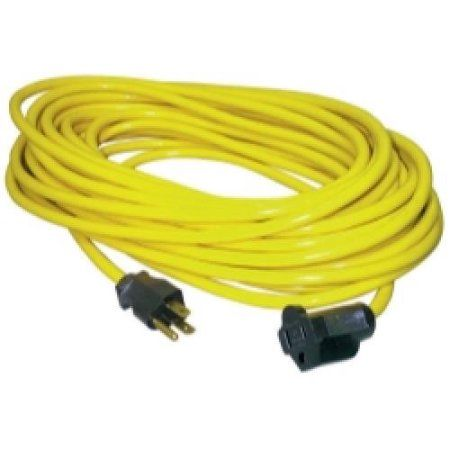 50' Outdoor Extension Cord, Yellow
