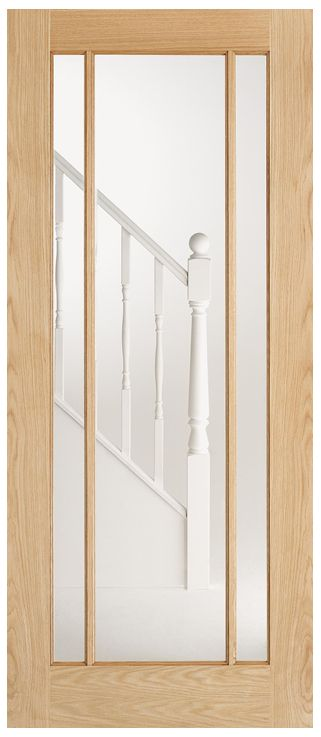 Lincoln Glazed Oak French Door