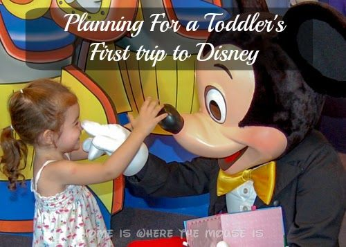 Disney with a toddler can be a daunting task. Here's how you can effectively plan for their first trip. | Disney Trip Tips | Disney with Toddlers
