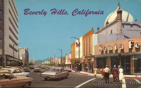 Street Scene Beverly Hills Street Scenes Beverly Hills California