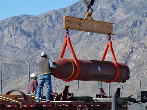 The Massive Ordnance Penetrator bomb made news last week when its development team won rare accolades and news of a possible target were reported by The Telegraph.