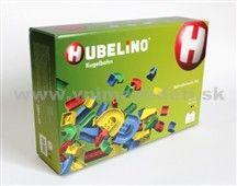 HUBELINO 120-dielna nadstavba guľôčkovej dráhy pre stavebnicu Hubelino Basis ponúka možnosť rozšírenia dráhy pre guľôčky + 15 ďalších guľôčok pre nekonečnú zábavu malých aj veľkých.