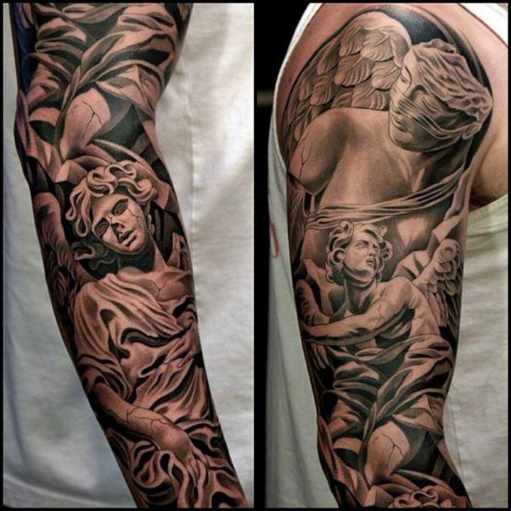 Pin De Lucas Pace En Tatuajes Brazos Tatuados Tatuaje Manga Brazo Tatuajes De Mangas Para Hombres