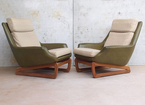 Danish Deluxe Retro Chairs