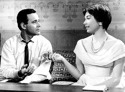 Billy Wilder's The Apartment (1960) - starring Jack Lemon and Shirley MacLaine.