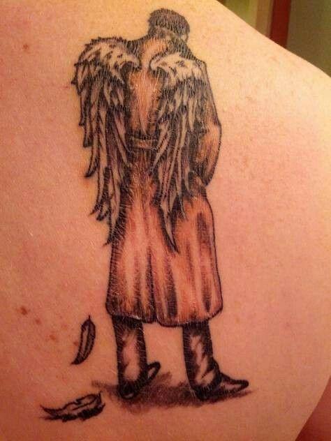 Castiel tattoo