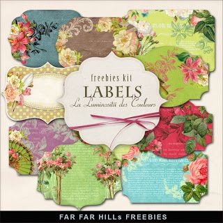 Far Far Hill: Free Labels