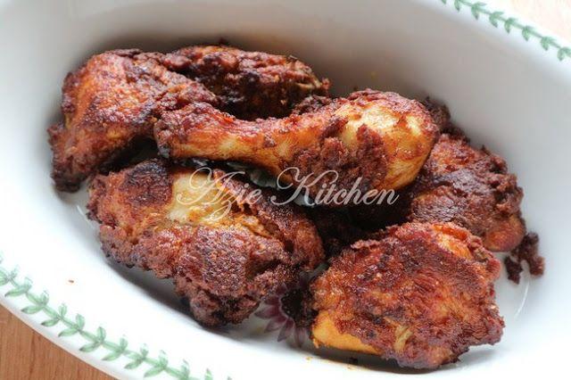 Ayam Goreng Berempah Istimewa Ayam Goreng Ayam Tandoori Resep Makanan