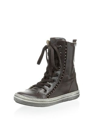 67% OFF Romagnoli Kid's Casual Sneaker (Dark Brown)
