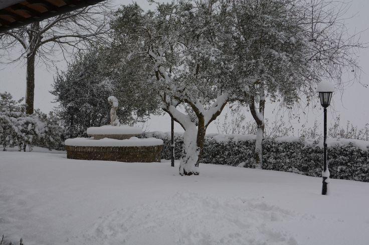 Last Year's Eve snow