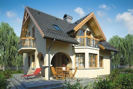 Proiect de casa cu subsol, parter si mansarda - spatii multifunctionale