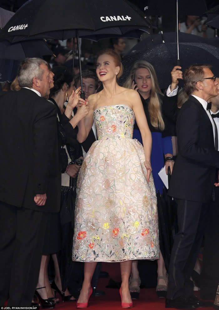 Nicole Kidman on the 66th Annual Cannes Film Festival 2013 at the Theatre Lumiere