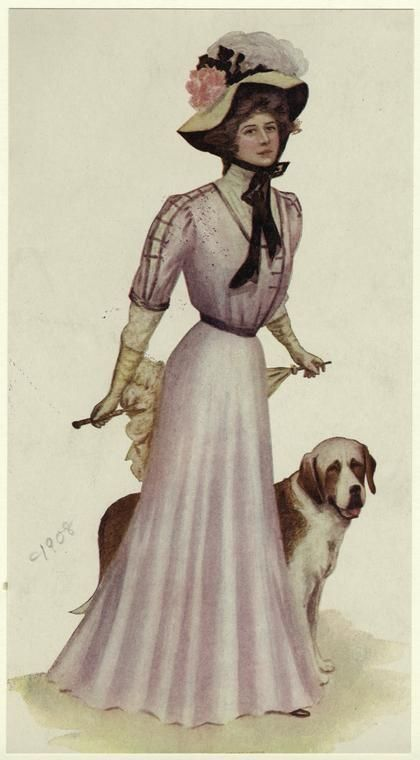 1908 Women's fashion
