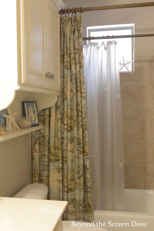 Bosphorus Toile Shower Curtain A Seaside Inspired