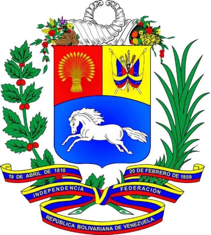 Escudo Nacional De Venezuela Escudo De Venezuela Bandera De Venezuela Simbolos Patrios