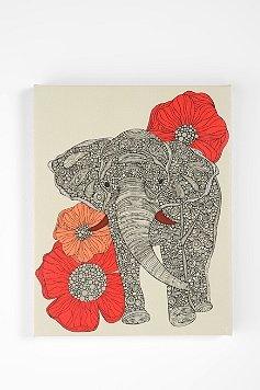 elephants are cool: Elephants, Elephant Art, Idea, Urban Outfitters, Elephant Print, Valentina Ramos, Elephant Wall Art, Things, Room