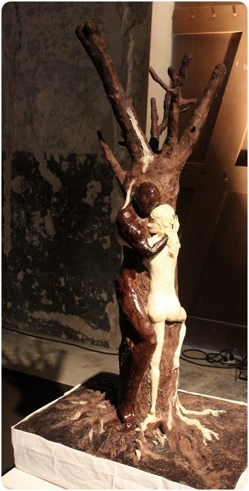 Another chocolate statue,the chocolate festival ,Tel Aviv