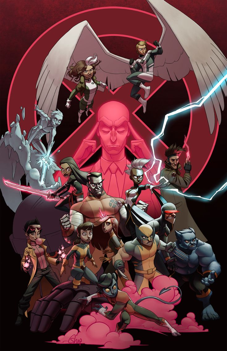 X-Men Fan Art - Randy Bishop