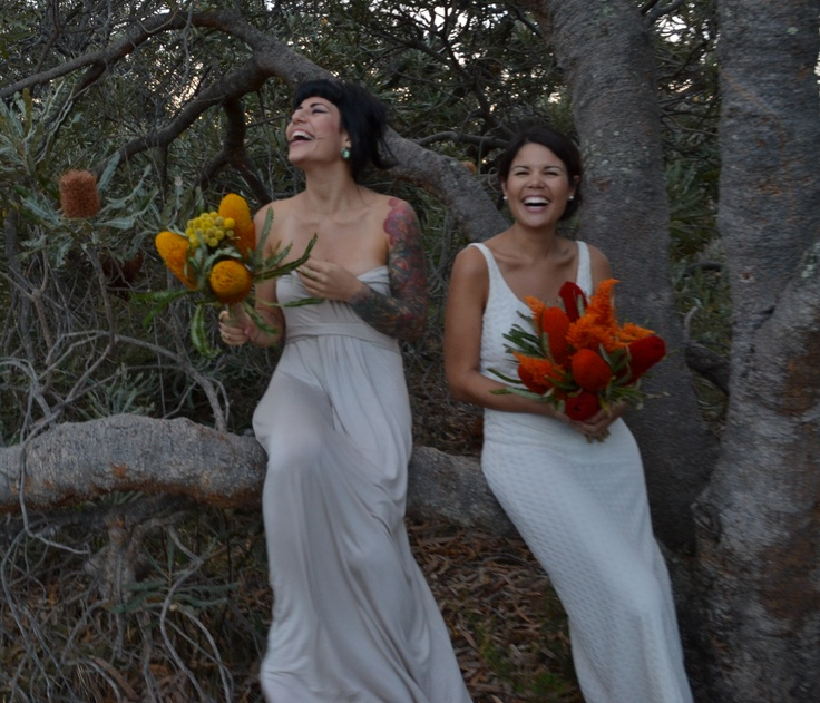 Australian native bridal bouquets