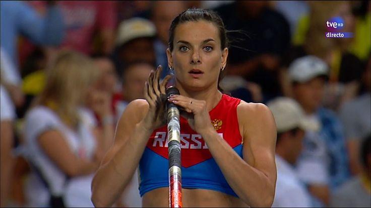 Moscow 2013 - Women's pole vault final - Final de salto con pértiga feme...