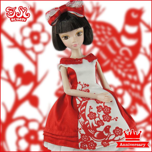 Kurhn octavo aniversario muñeca #1180